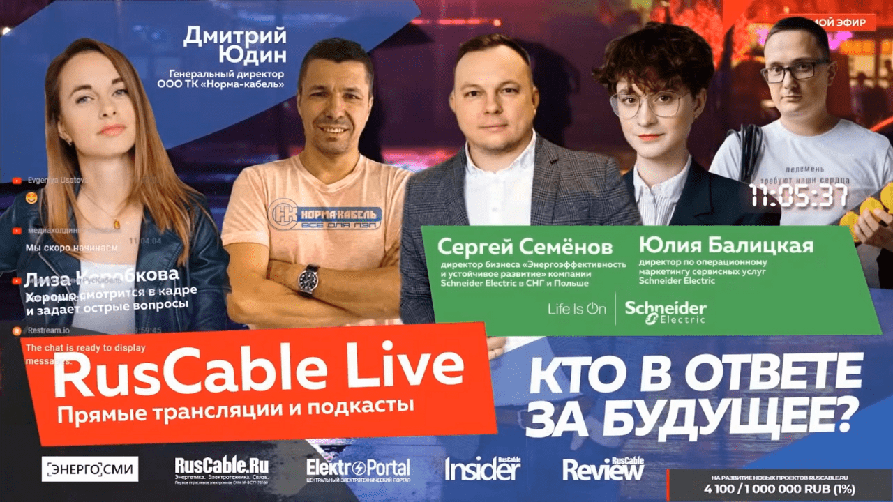 Интервью на RusCable Live